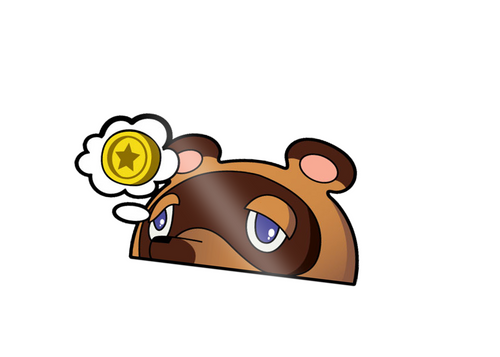 Tom Nook Peeker