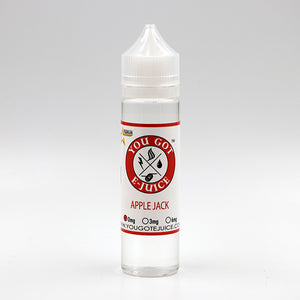 Apple jack, Short Fill, 50ml, Affordable, The best, You Got E-Juice,