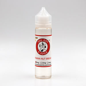 Banana Nut Bread, Short Fill, 50ml, Vape, E-Cig, Vape Juice, E-Juice