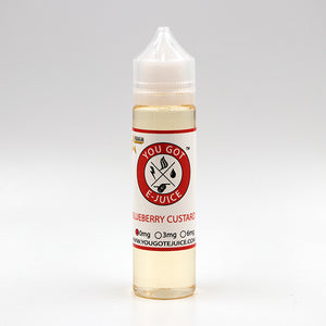blueberry custard, the best, short fill, vape, e-cig, vape juice, e-juice, You Got E-Juice