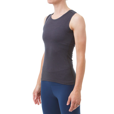 Womens Radiator Sl Base Layer Black Front Side