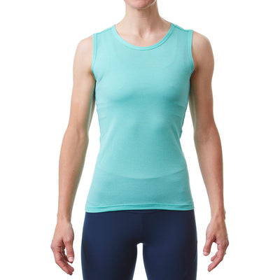 Womens Radiator Sl Base Layer Celeste Front