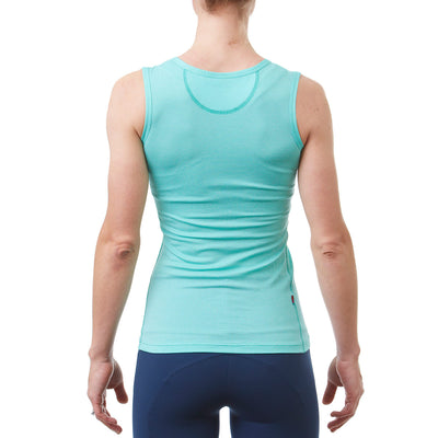 Womens Radiator Sl Base Layer Celeste Back