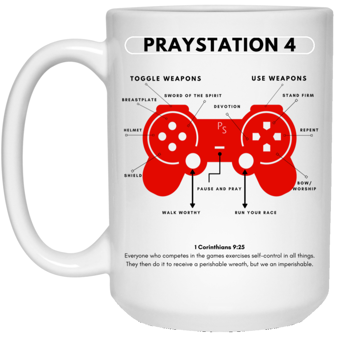 PRAYStation 4 Mug