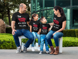 Serve the Lord Family Toddler Tee