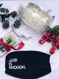 God Is Enough Face Mask Gift Set