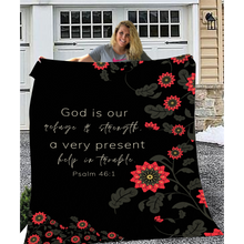 God Is Our Refuge Blanket And Journal Bundle