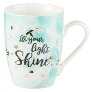 Let Your Light Shine Matthew 5:16 Coffee Mug