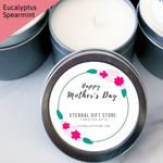 Handmade Eucalyptus Spearmint 6oz  Candle (Limited Edition)