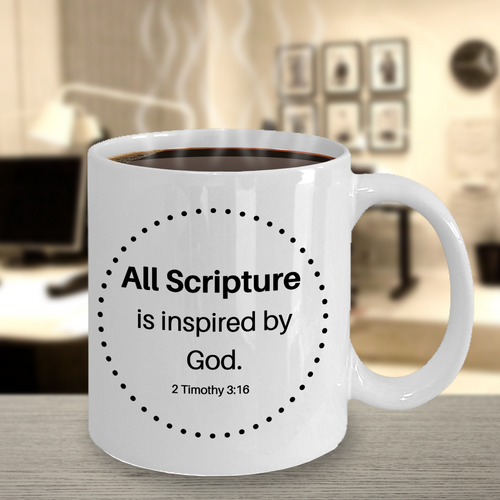 All Scripture Is Inspired By God Mug