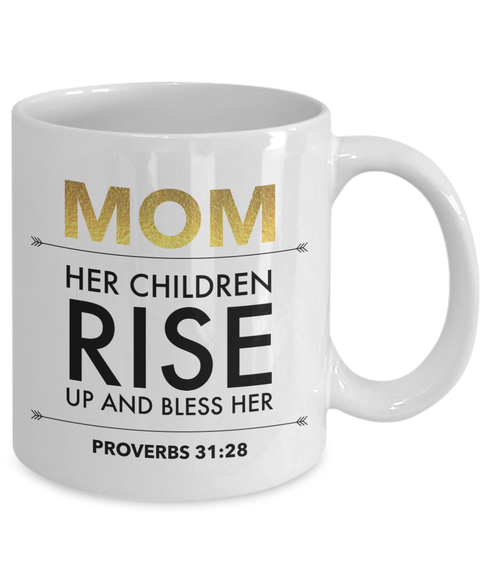 Proverbs 31 Blessed Mom Mug