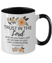 Trust in the Lord Two-Tone Mug