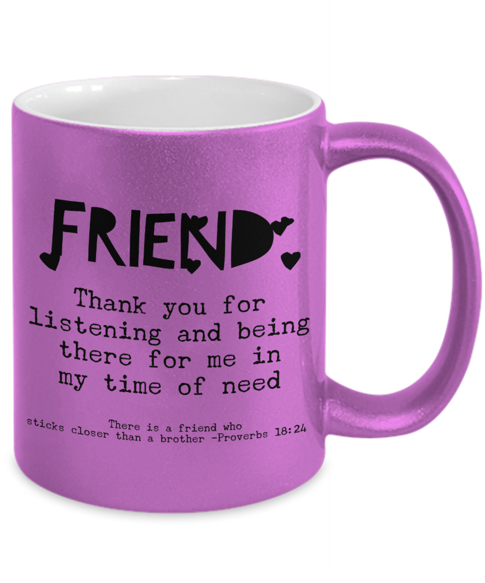 Friends Are a Blessing Mug