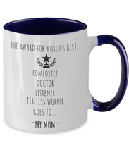 The Award For World's Best Mom Mug