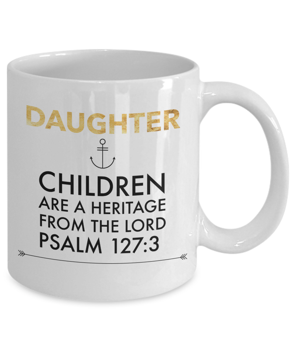 Daughters Are a Blessing Mug
