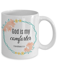 God is My Comforter Mug