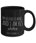My Beloved is Mine Couples Mug