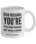 Dear Husband, My Soul Loves You Mug