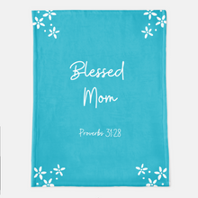Blessed Mom Throw Blanket (Local Delivery)