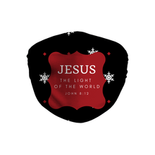 Jesus Light Of The World Face Mask