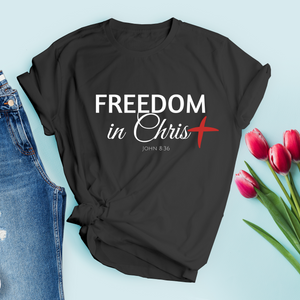 Freedom In Christ Women's Tee