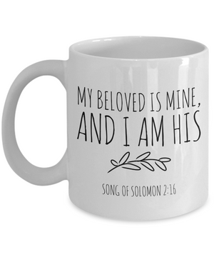 My Beloved is Mine Mug