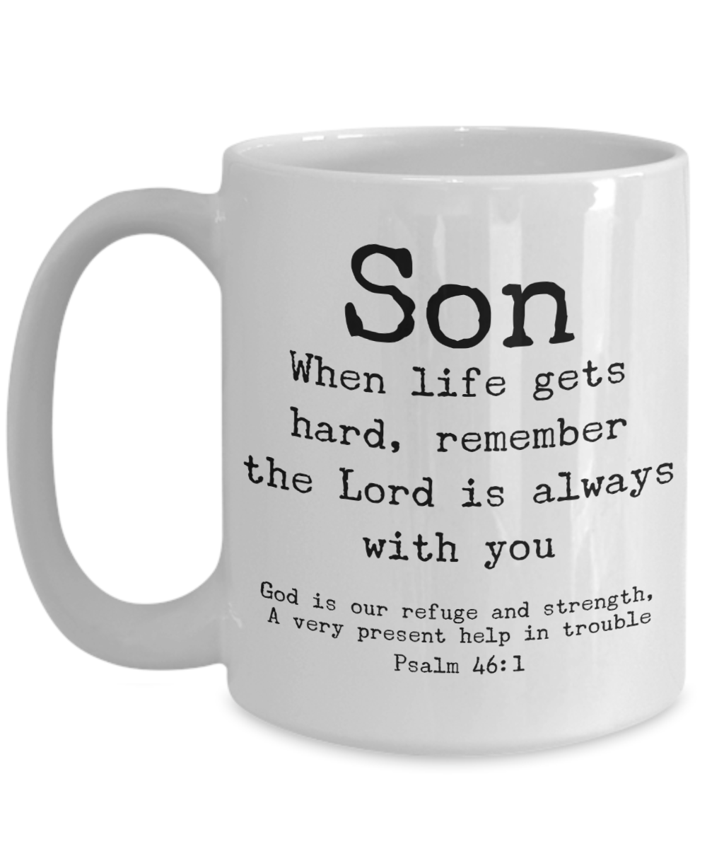 Son -God is With You Mug