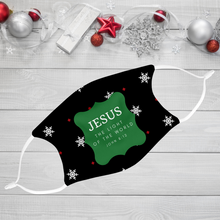 Jesus Is The Light Of The World 3-Piece Face Mask Bundle Gift