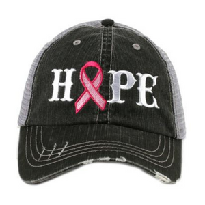 Hope Trucker Hat - Breast Cancer Edition