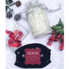 Jesus The Light Of The World Face Mask Gift Set