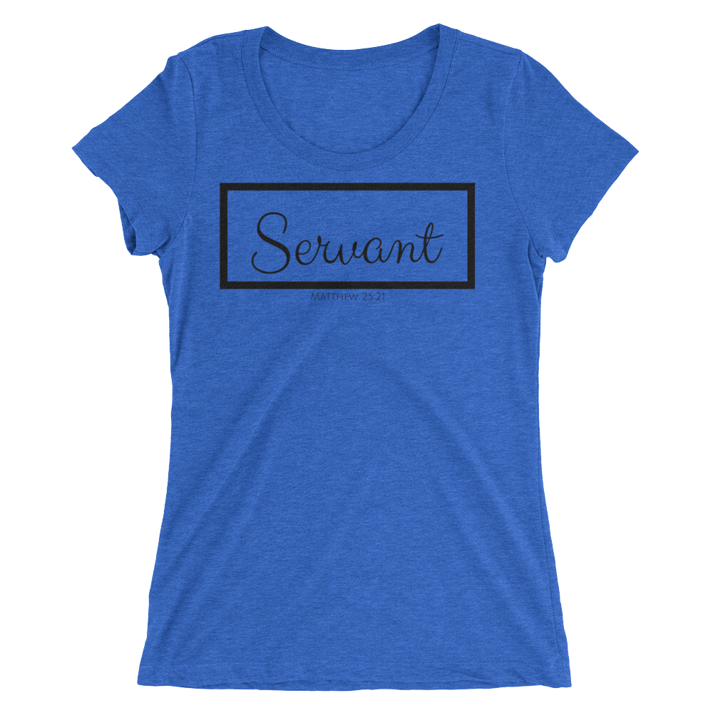 Servant Ladies' Triblend T-shirt