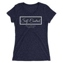 Fruit of the Spirit-Self Control Ladies' Triblend T-shirt