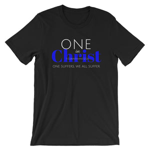 One In Christ Blue Unisex T-Shirt