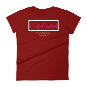 Fruit of the Spirit-Self Control Ladies' T-shirt