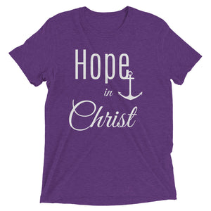 Hope in Christ Ladies' Triblend T-shirt