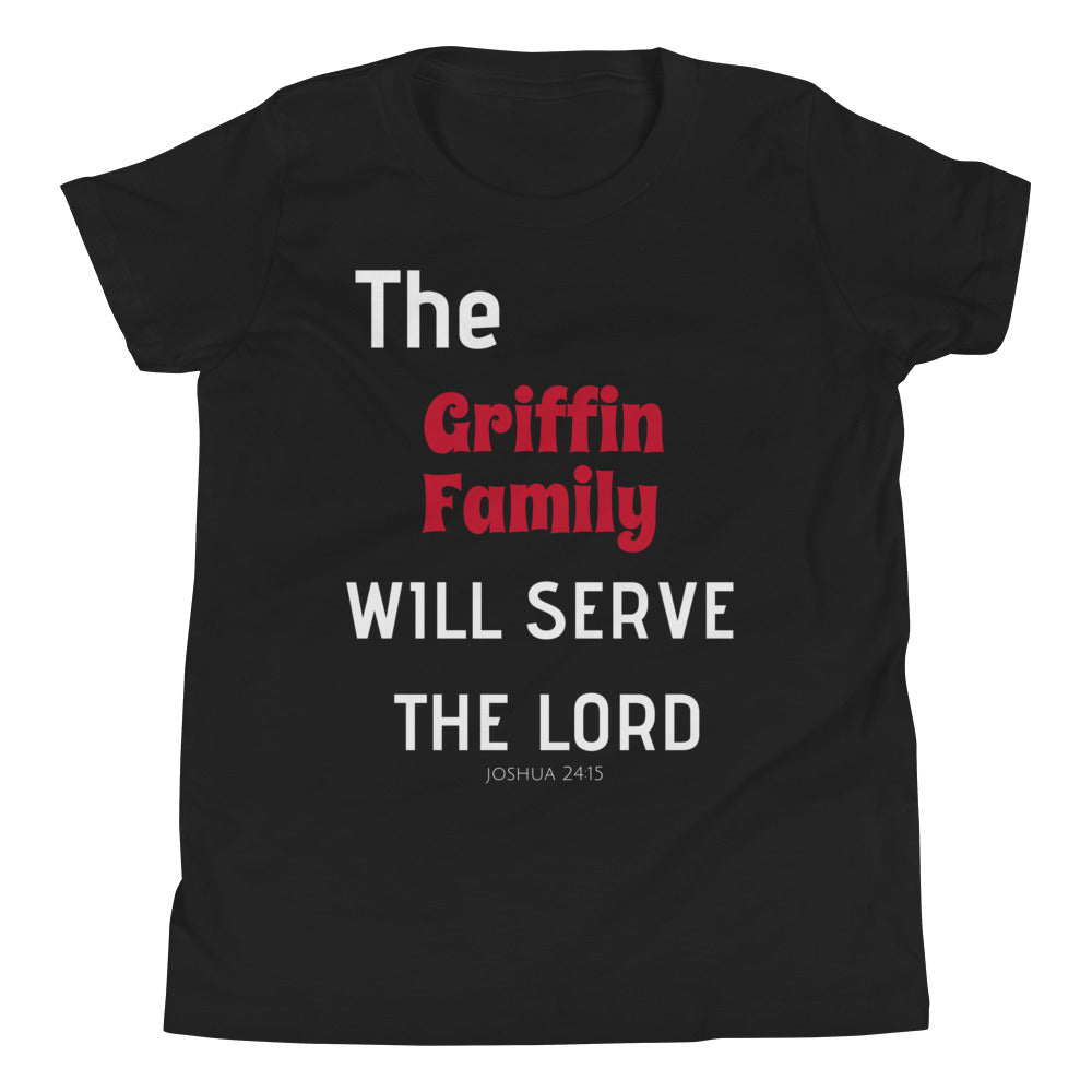 Serve the Lord Youth Short Sleeve T-Shirt