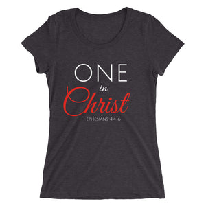 One In Christ Ladies' Triblend T-shirt