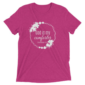 God is My Comforter Triblend T-shirt