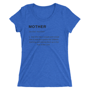 Mother Definition Triblend T-shirt