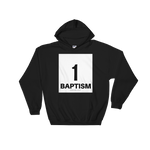 1 Baptism Hooded Sweatshirt