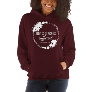 God's Grace is Sufficient Hoodie