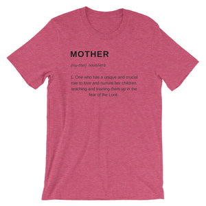 Mother Definition T-Shirt