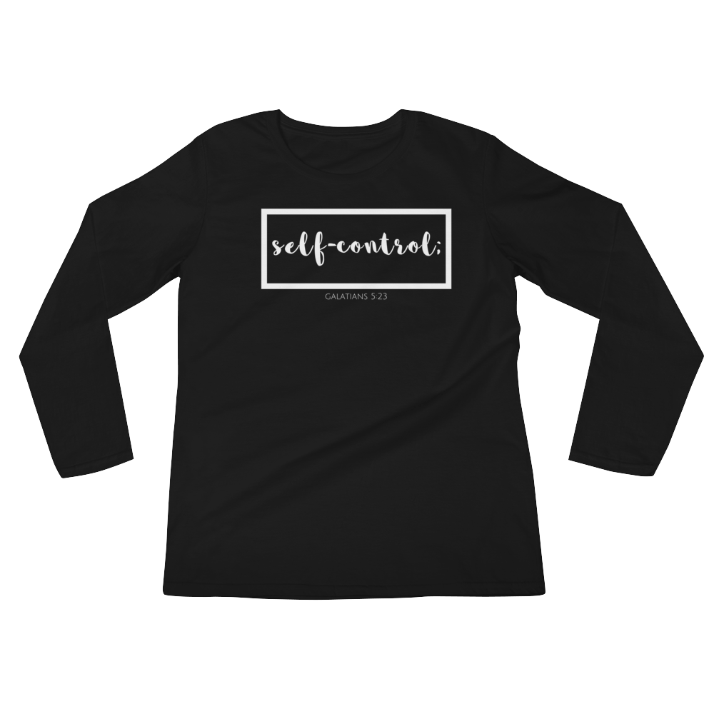 Self Control Ladies' Long Sleeve T-Shirt