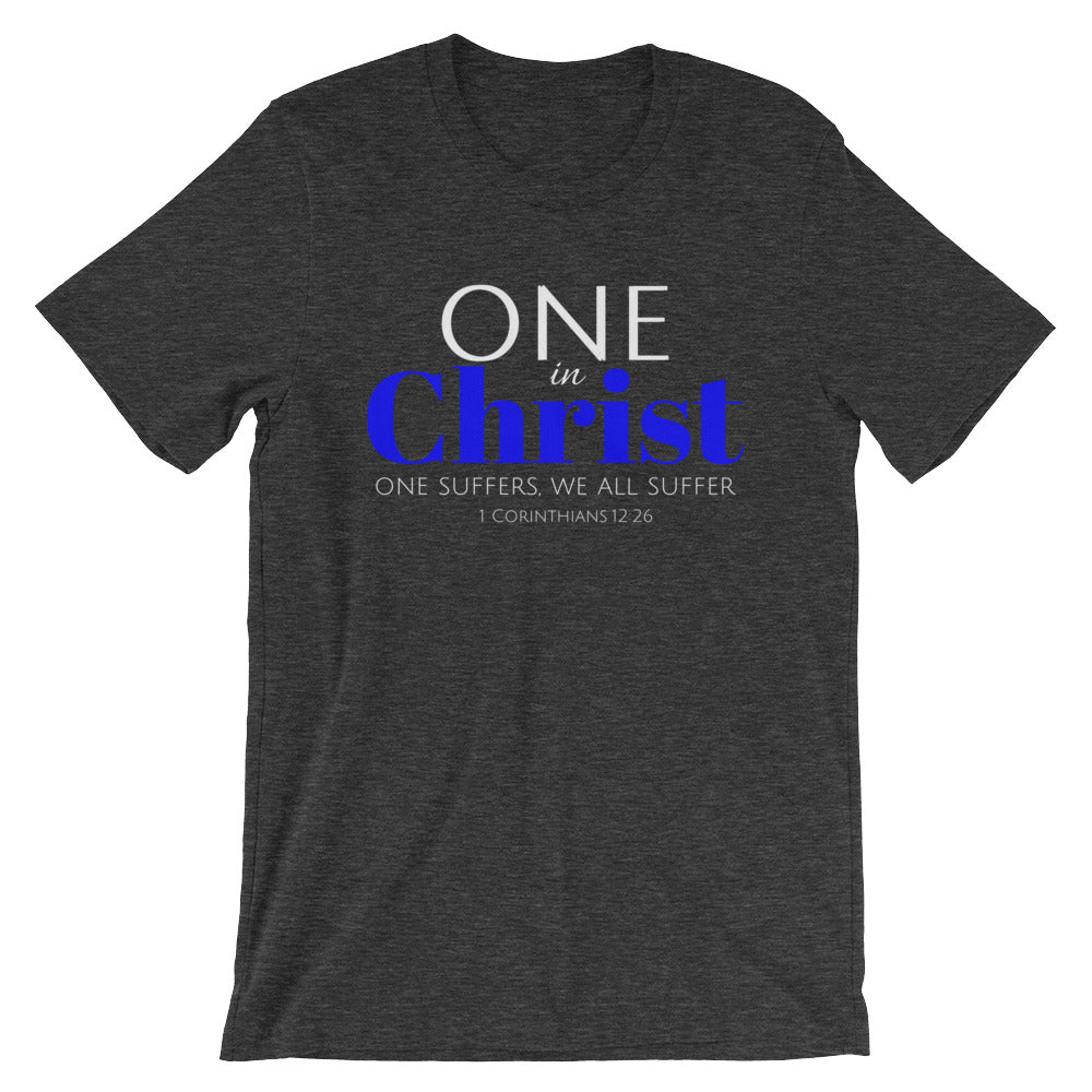 One In Christ-Blue Unisex T-Shirt
