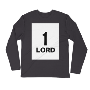 1 Lord Men's Long Sleeve Fitted Crew