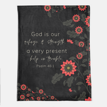 God Is Our Refuge Throw Blanket (Local Delivery)