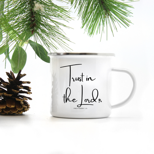 Trust in the Lord Camp Mug