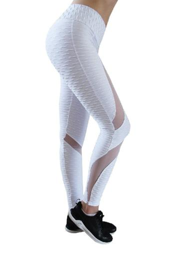 Honeycomb Mesh Leggings