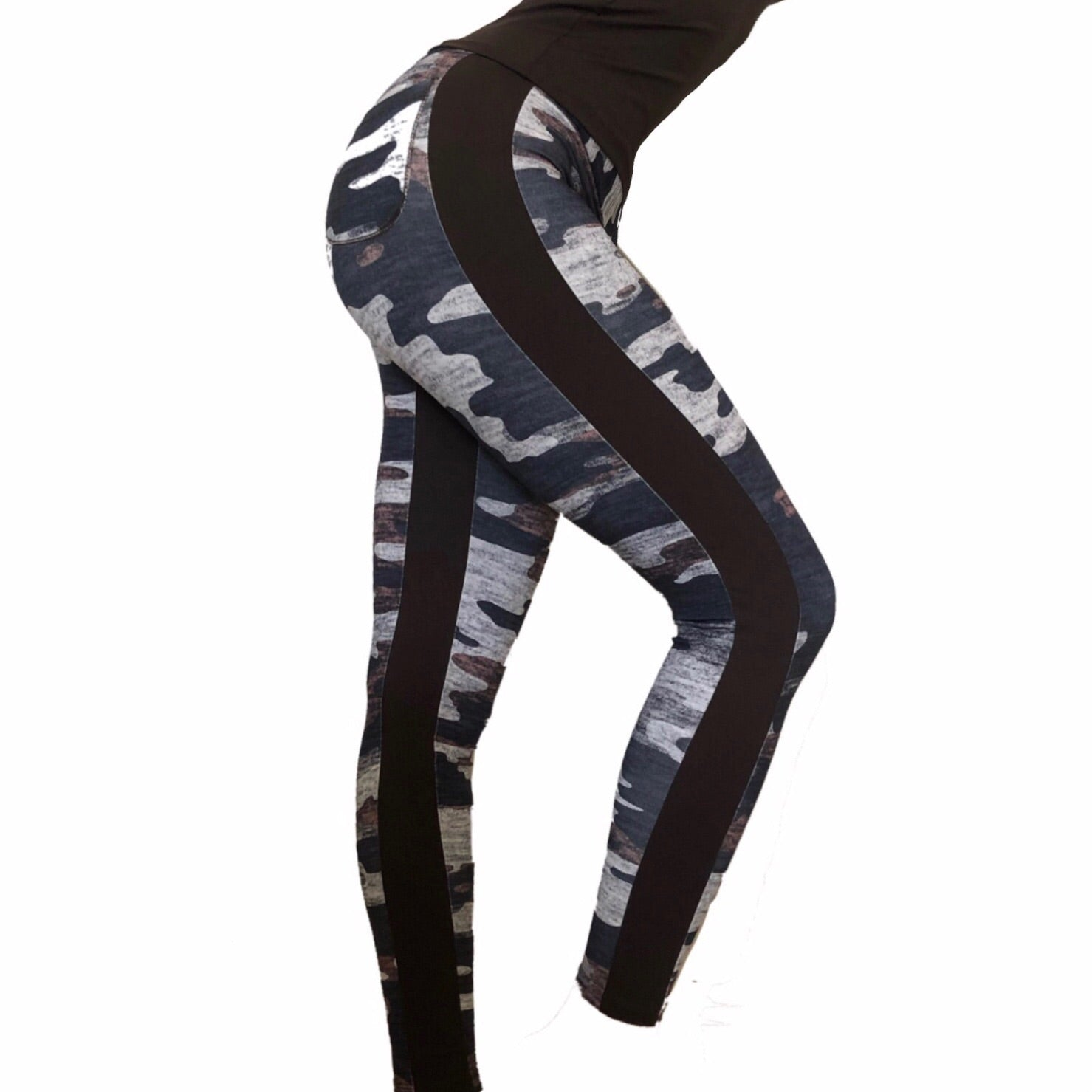 Lava Camo Leggings