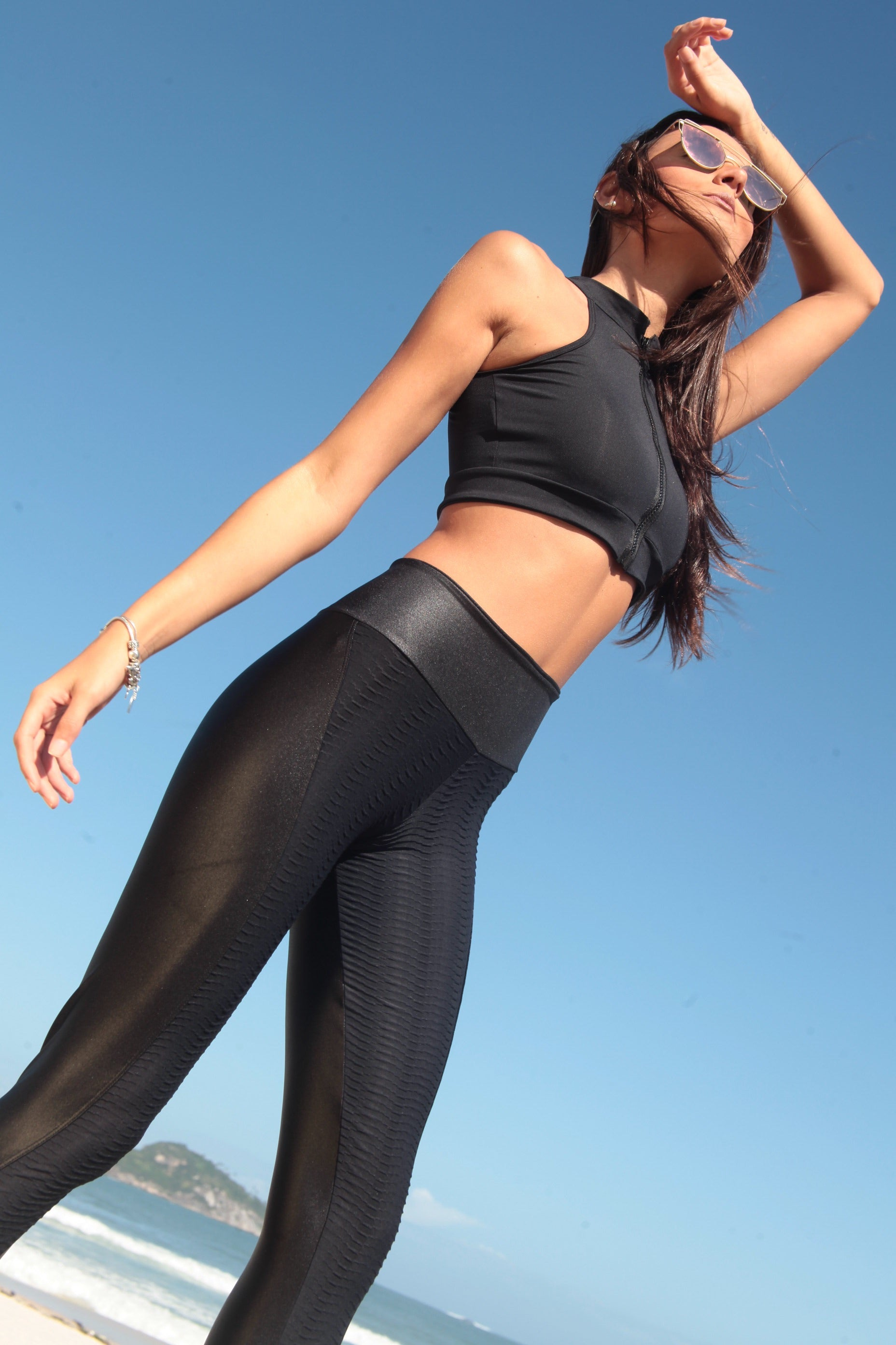 Wrinkle Shine Leggings